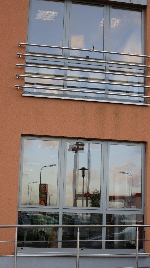 Okna aluminiowe - Przychodnia NCM Gdańsk ul. Świętokrzyska