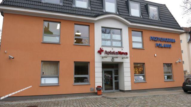 Okna i drzwi aluminiowe Nadmorskie Centrum Medyczne Przychodnia Gdańsk ul. Polanki