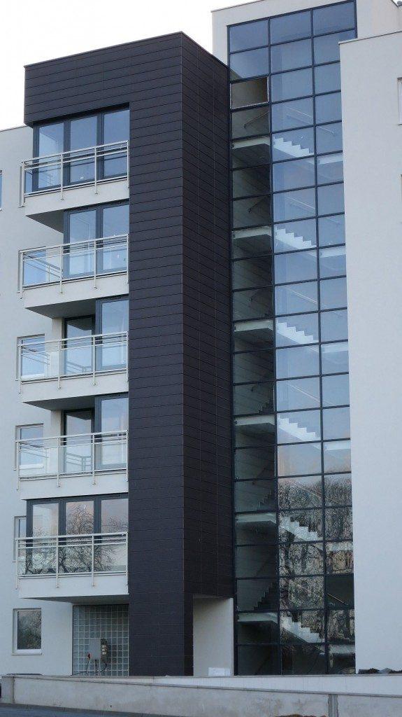 Fasada i okna aluminiowe - P.B.KOKOSZKI Gdańsk ul. Sadowa