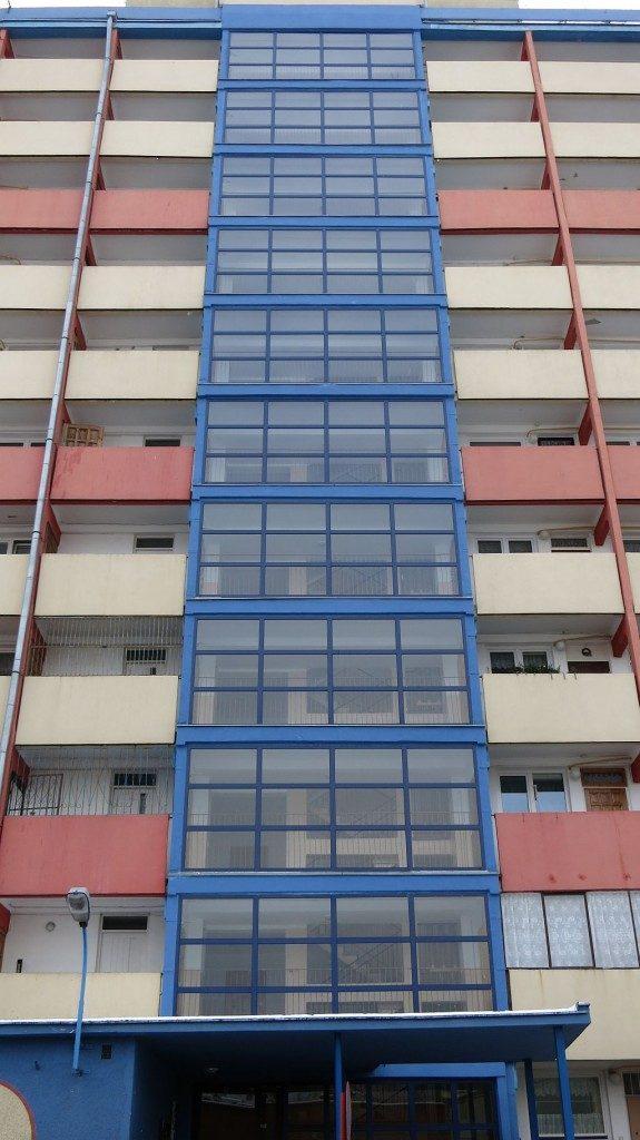 Fasada aluminiowa Gdańsk ul. Jagiellońska 10 H