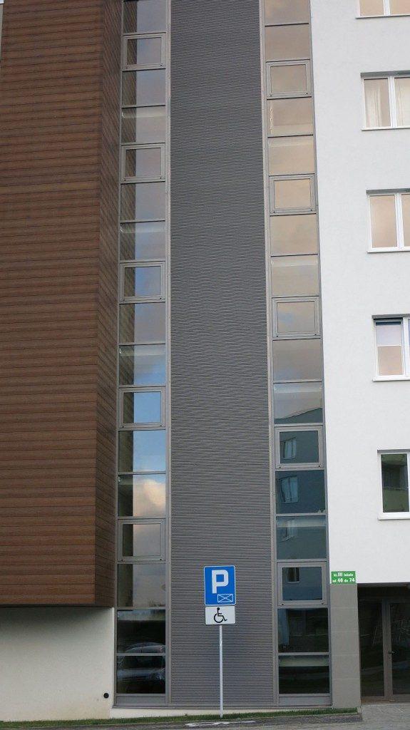 Fasada aluminiowa - P.B.KOKOSZKI Gdańsk ul. Dulina