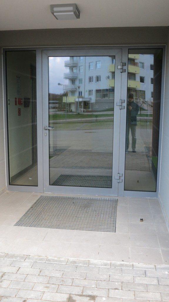 Strefa wejścia aluminium - Gdańsk ul. Dulina 1