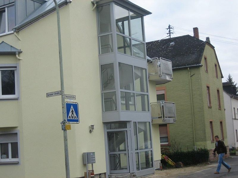 Fasada aluminiowa - Trier, Niemcy, inwestor - D.I.T